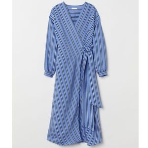 H&M Wrapover Front Tie Dress